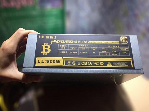 Купить новый блок питания для майнеров Golden Field LL1800W в